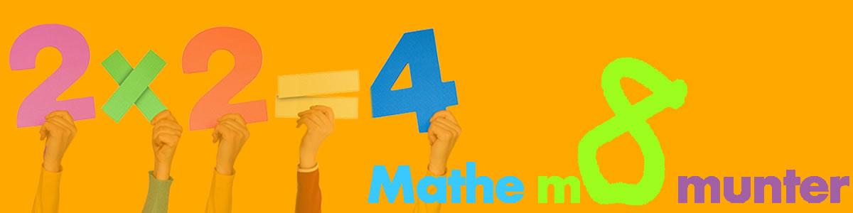 Das Wort munter ist urverwandt mit dem griechischen Stammwort für Mathematik. Mathematik ist weit mehr als RECHNEN.